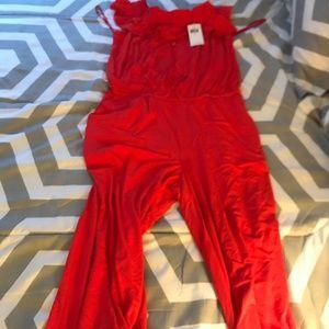 Ralph Lauren Jumper Red Large